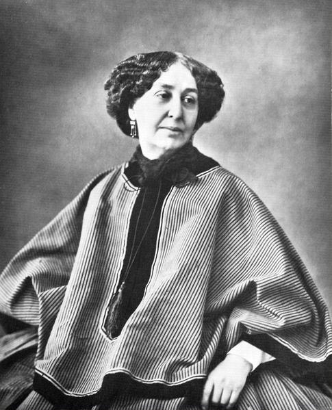 George Sand 1858
