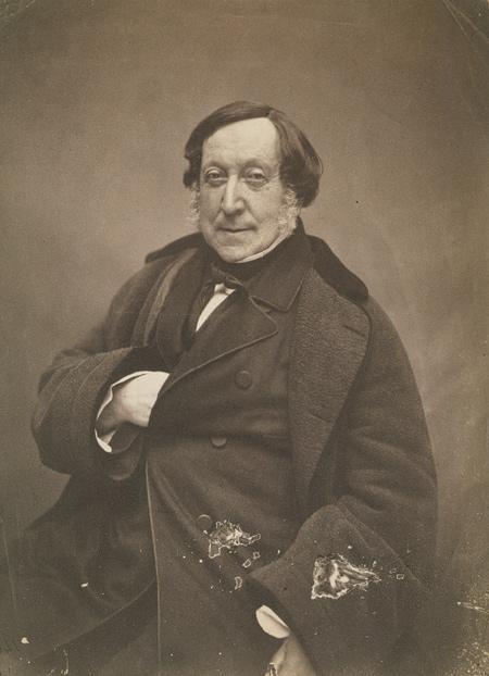 Gioacchino Rossini, 1856